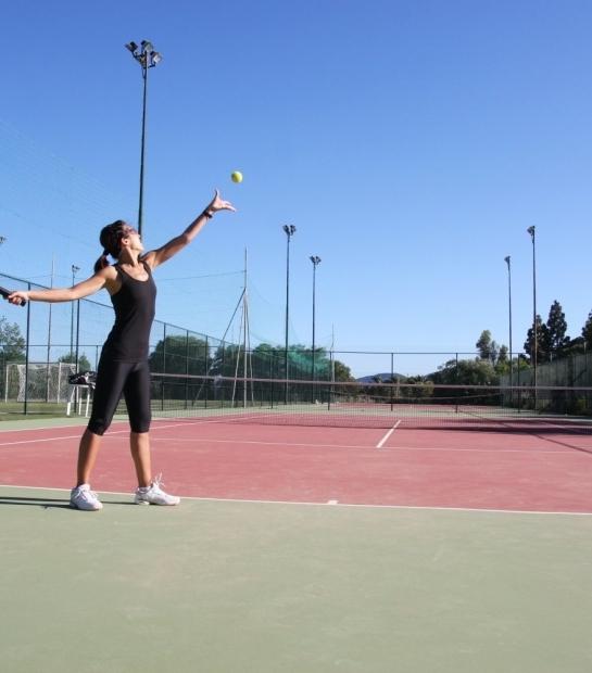 Allenamento di Tennis