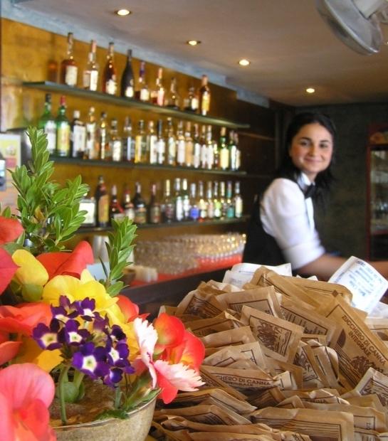 Il bar dell'Hotel Free Beach