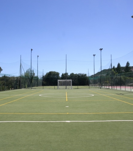 Tennis and Soccer field