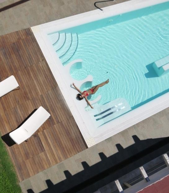 Centre de bien-être avec piscine