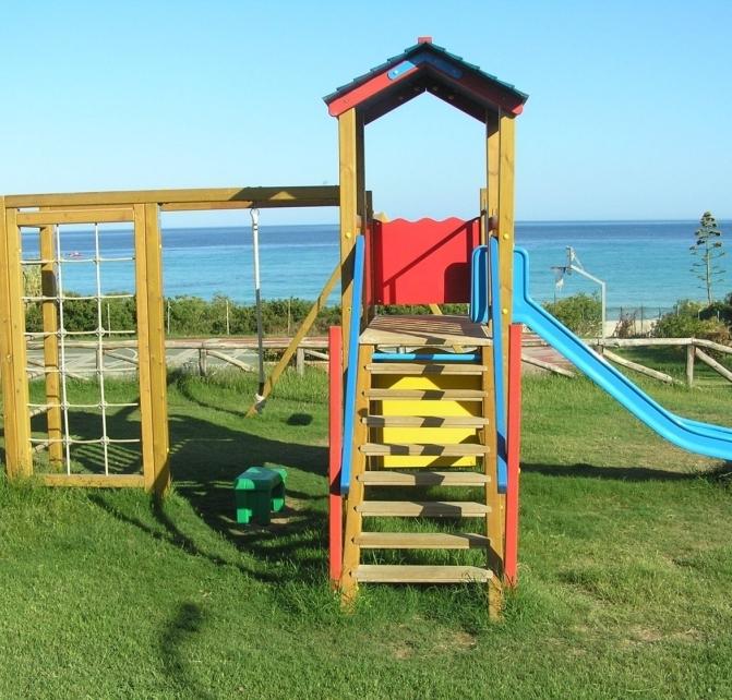 Parco giochi dell'Hotel Free Beach Club