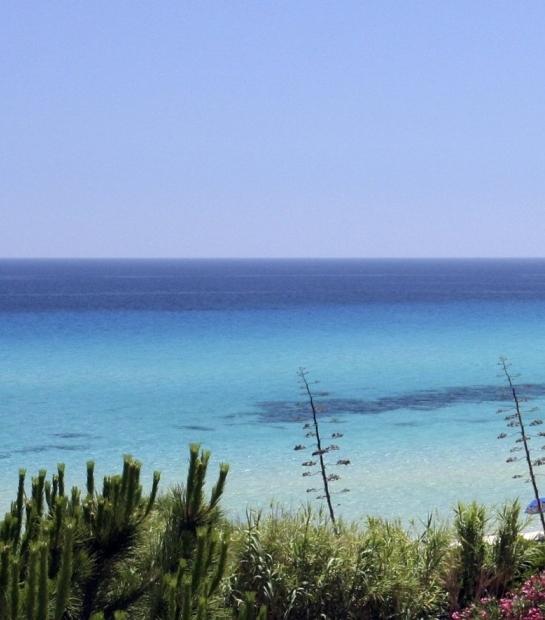 The sea of Costa Rei