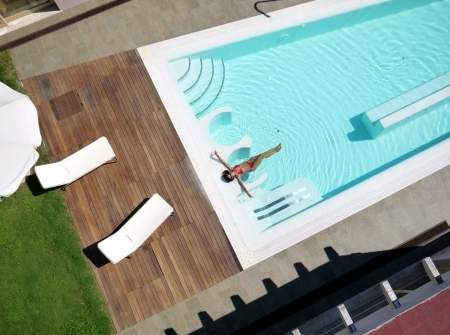 Piscina dell'Hotel Free Beach Club di Costa Rei