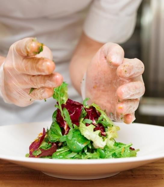 Préparation des plats typiques