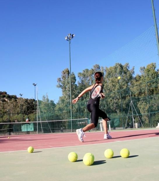 Terrains de tennis en plein air