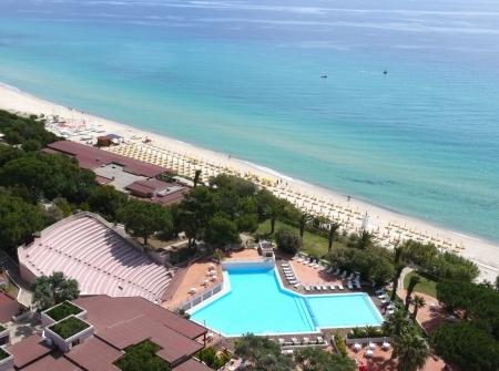 Vista aerea piscina