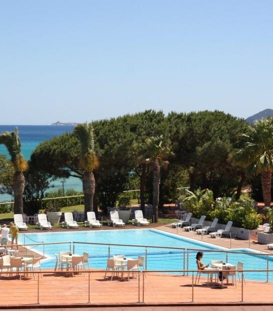 Vista Panoramica della piscina